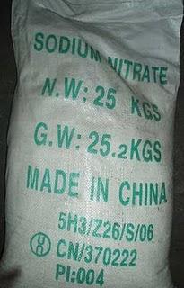 NaNO3 - Sodium nitrate