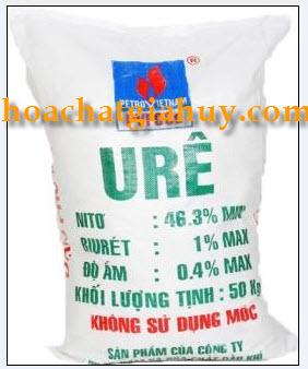 (NH2)2CO - Ureâ hạt đục (Bao trắng chữ xanh)