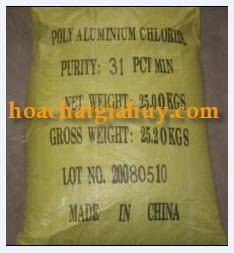 PAC - Poly Aluminium Cloride - Vàng Chanh